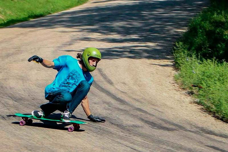 Alex Colorito taking turn on Mole longboard